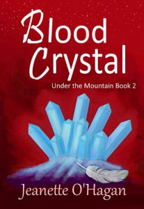 Cover of Blood Crystal by Jeanette O'Hagan