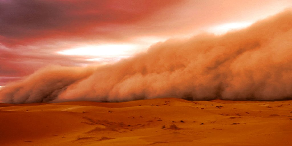 The Red Wind of an Alien World